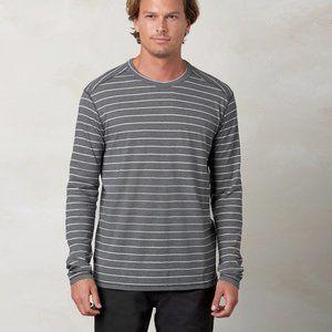 Prana Keller Striped Long Sleeve Sweatshirt